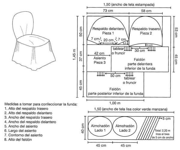 Чехол для дачного стула