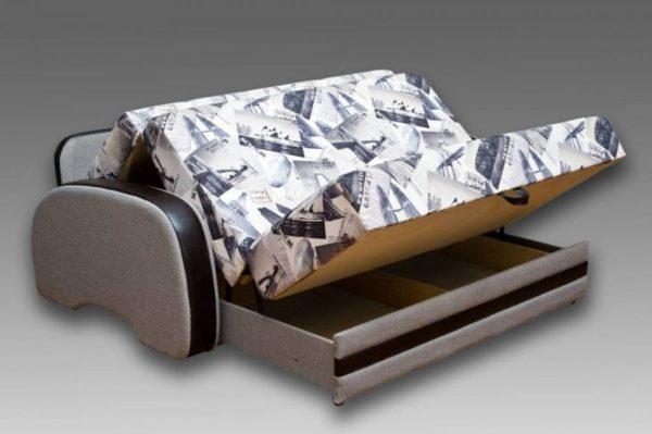 Что представляет собой диван-аккордеон
