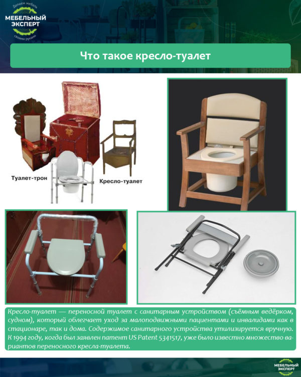 Что такое кресло-туалет