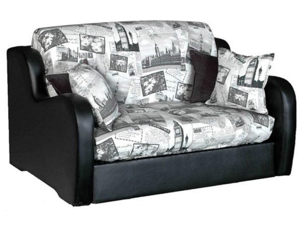Диван-кровать аккордеон обладает массой преимуществ, так как относится к трансформирующейся мебели