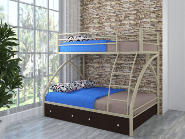 Двухъярусная кровать своими руками - чертежи и схемы