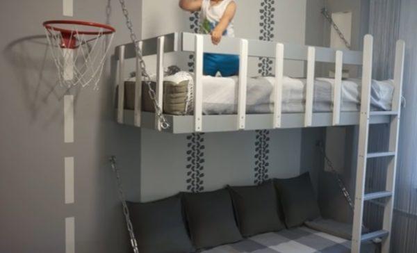 Готовая двухъярусная кровать