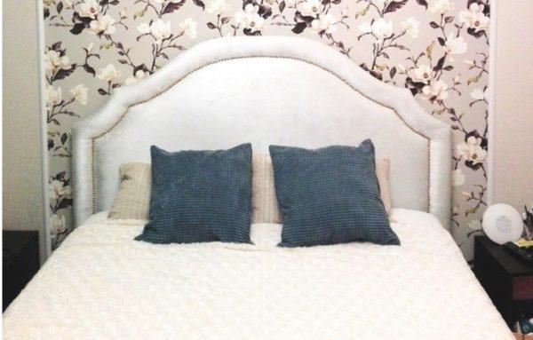 Готовая кровать из мебельного щита