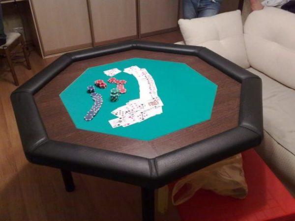 Готовый восьмиугольный стол для покера