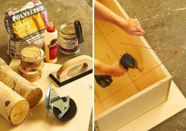 Инструменты, материалы и изготовление короба