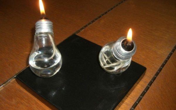 Керосиновая лампа-горелка