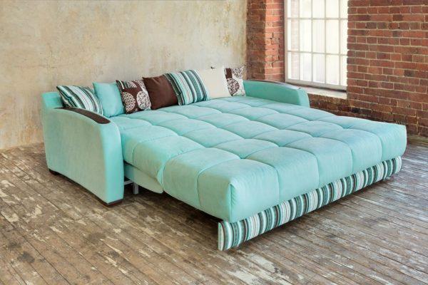 Красивый диван-аккордеон