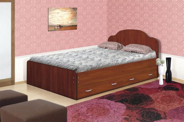 Кровать из ЛДСП своими руками