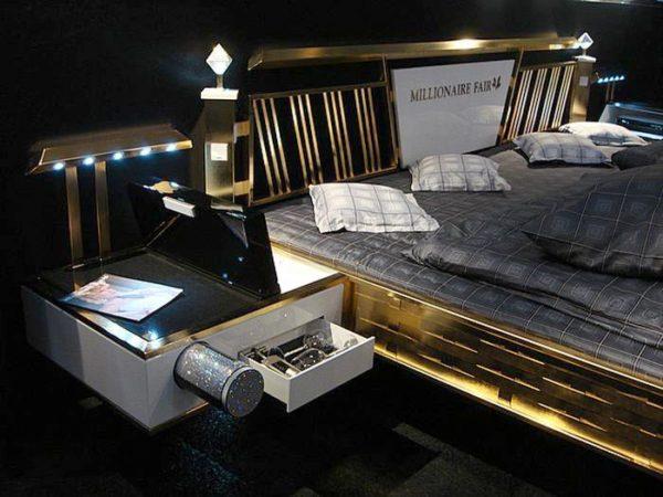 Кровать с аудиосистемой