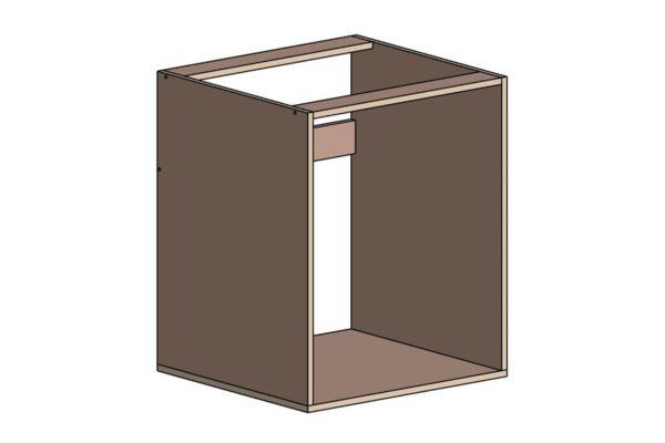 Кухонный корпус под мойку без задней стенки