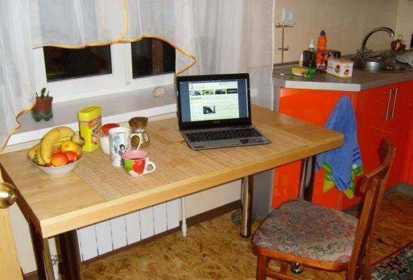 Кухонный стол делаем своим руками