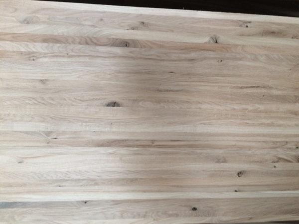 Мебельный щит из дуба 20 мм цельноламельный, сорт ВС