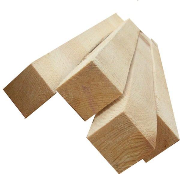 Можно использовать натуральную древесину