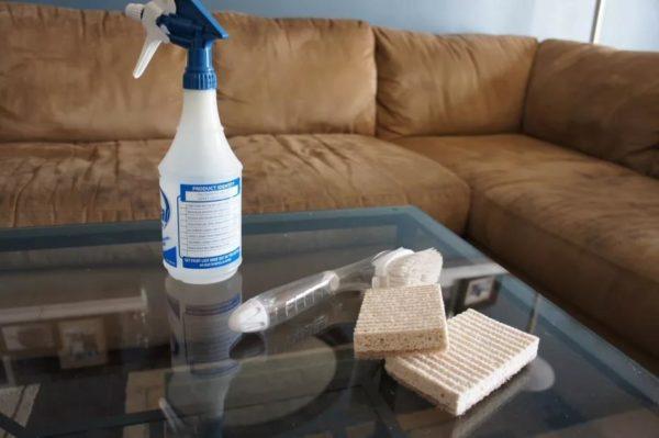 Можно приступать к чистке мебели