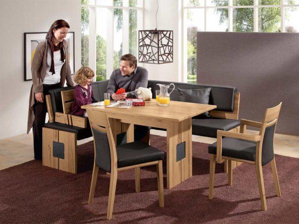 От количества членов семьи будут зависеть размеры мебели
