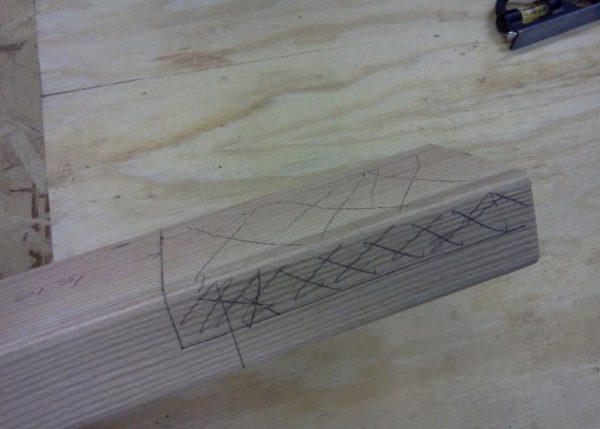 Отметки удобно делать карандашом, чтобы в случае ошибки стереть его