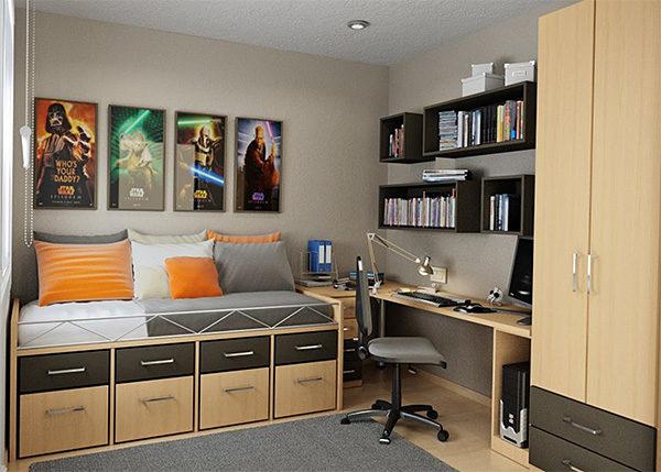 Нейтральный цвет стен идеален для любой комнаты