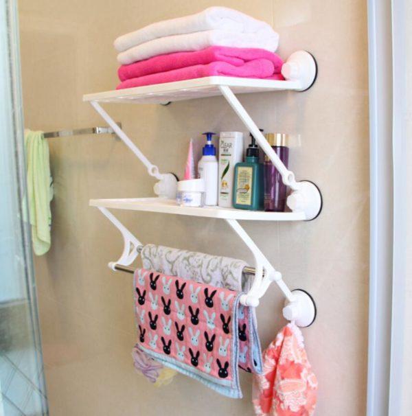 Пластиковые полки для полотенец