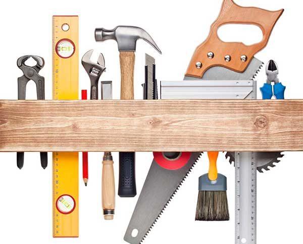 Набор инструментов для сборки угловой конструкции шкафа