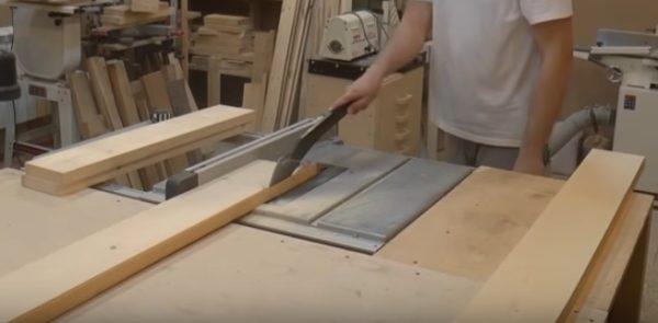 Подготовка обвязки стола