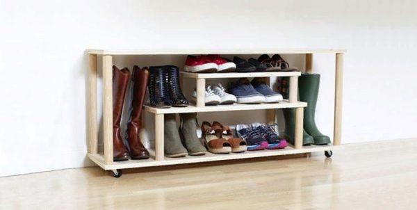 Полка для хранения обуви открытого типа