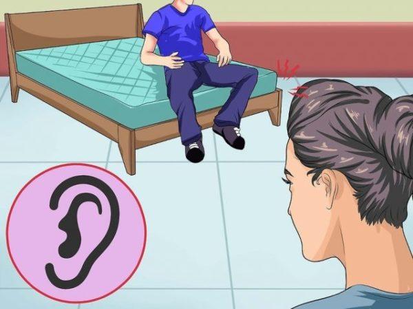Попытайтесь найти источник скрипа на слух