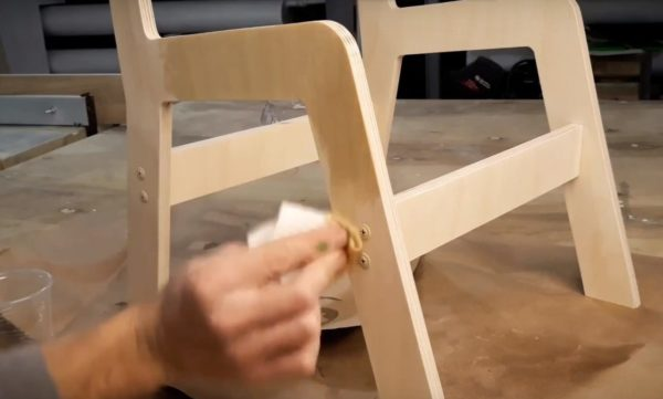 Последующая обработка конструкции