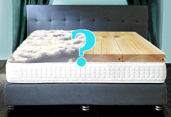 При выборе матраса для двуспальной кровати следует обязательно учитывать пожелания обоих партнеров