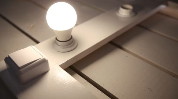 Проверка работы ламп