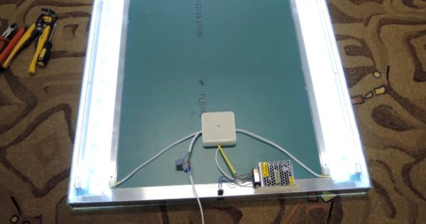 Проверка работы светодиодных ламп