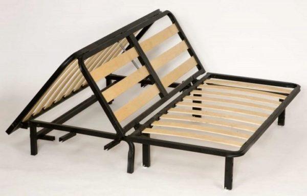 Прямой диван-аккордеон