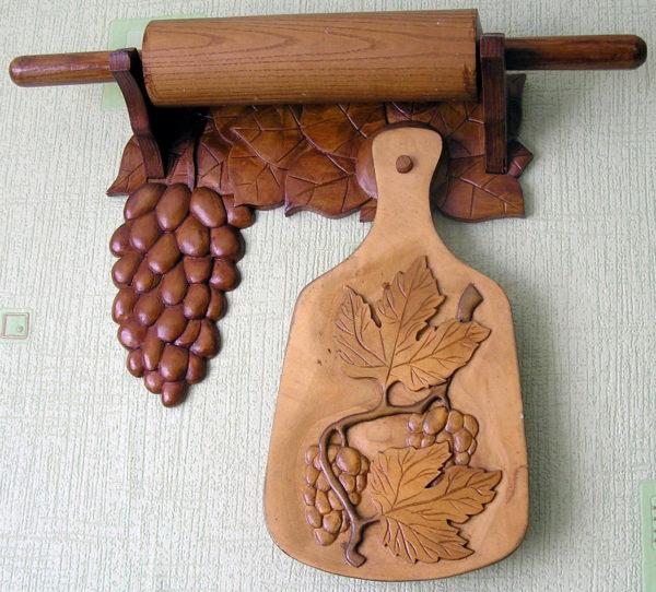 Разделочная доска из дерева своими руками