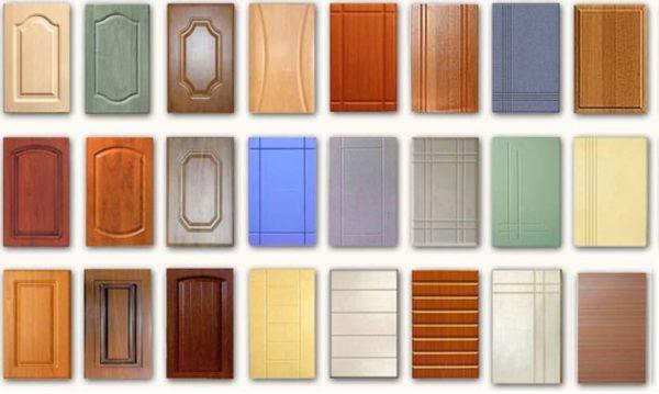 Разные варианты фасадов