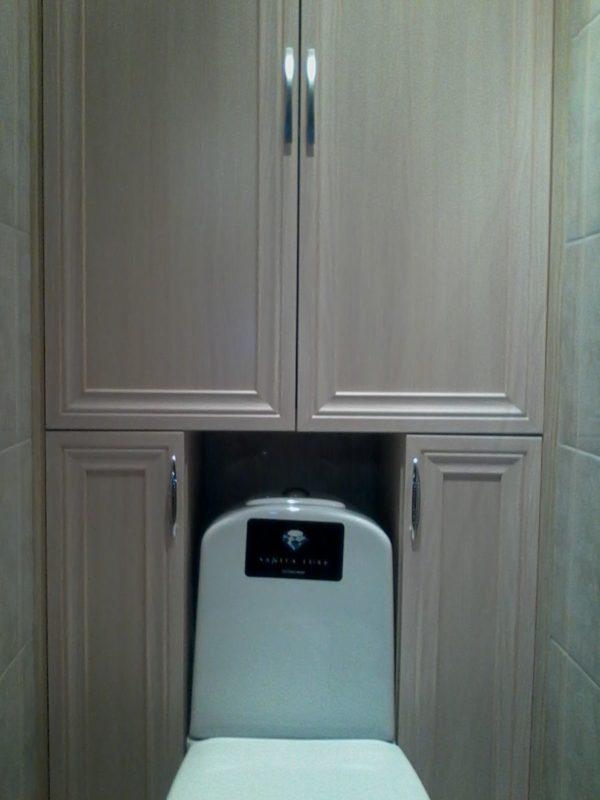 Шкаф не должен ограничивать доступ к сантехническому оборудованию и вентиляции
