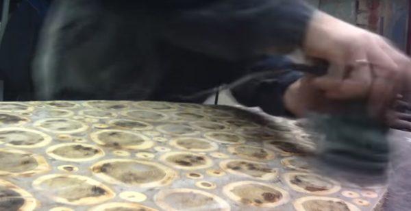 Шлифовка столешницы
