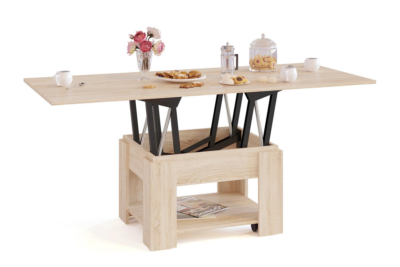 стол трансформер обеденный с подъемным механизмом виды модели цены