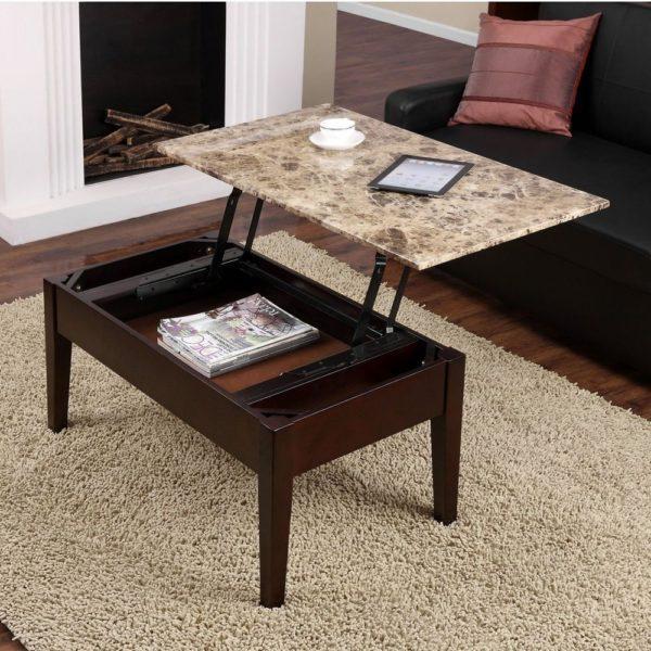 Столы-трансформеры – популярный вариант, представленный в разных моделях