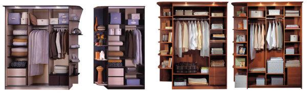 Вне зависимости от наполнения шкафа-купе, взаимодействие с ним должно быть удобным