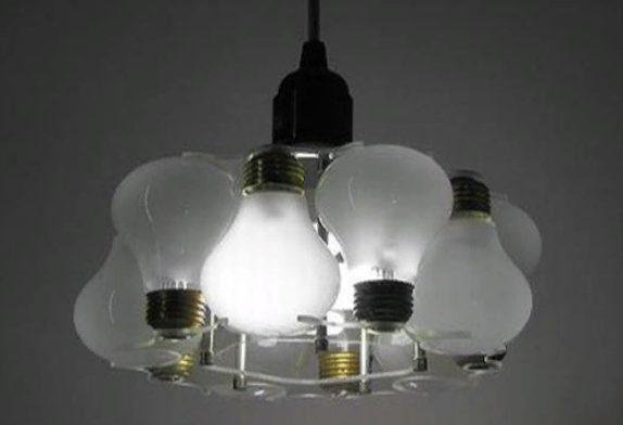Вторичное использование лампочек накаливания