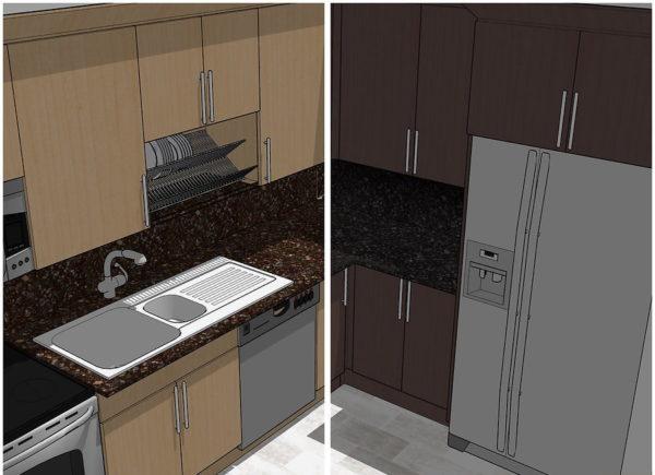 Выберите подходящие цвета для кухни