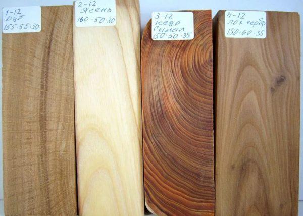 Выбор древесины для изготовления столика