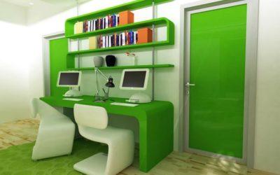 Зеленый и салатовый