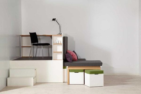 Желательно подбирать мебель-трансформер из качественных материалов