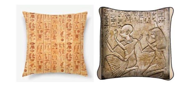 Жесткие подушки из древесины