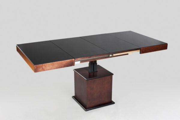 Такой стол отлично впишется в интерьер не только кухни, но и любого другого малогабаритного помещения