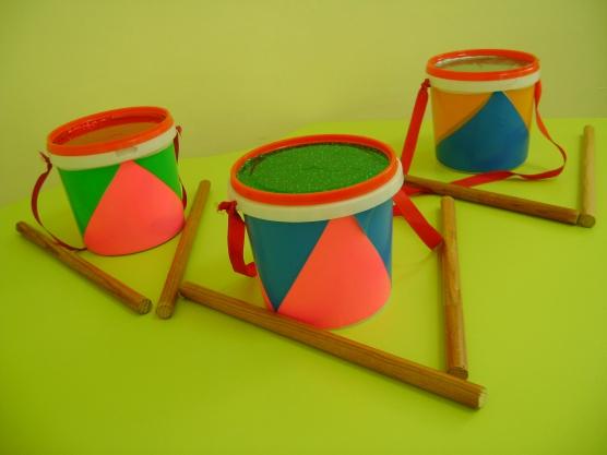 Музыкальные инструменты своими руками для детского сада