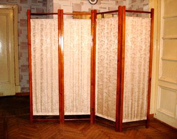 Декоративная ширма для зонирования комнаты своими руками