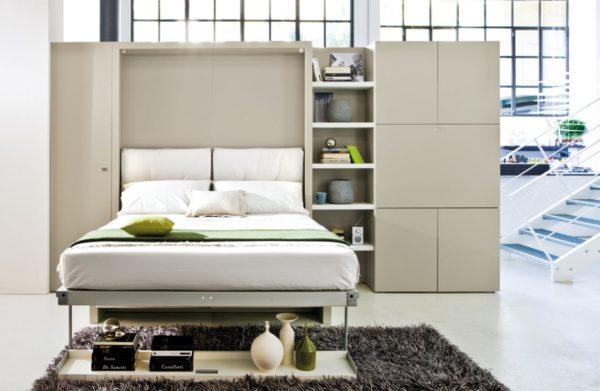 Кровать в шкафу: мебель-трансформер