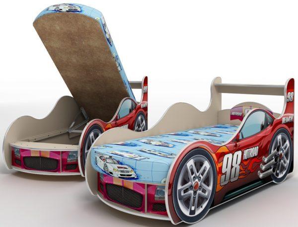 Кровать-машина своими руками: чертеж с размерами