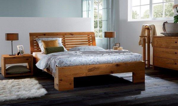 Кровать из массива сосны - стильное решение для любого интерьера, которое прослужит вам долгие годы